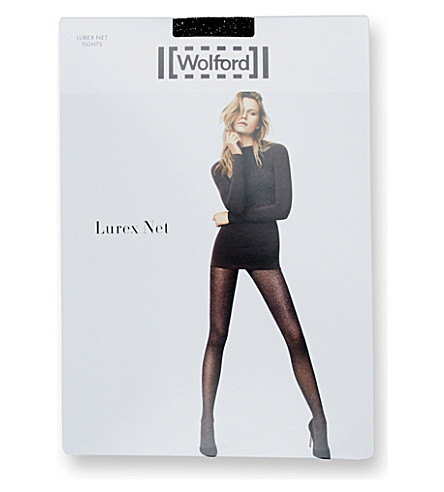 lurex-net-tights by wolford