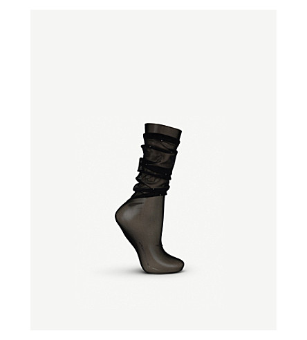 86a794889 WOLFORD - Adeline knitted socks
