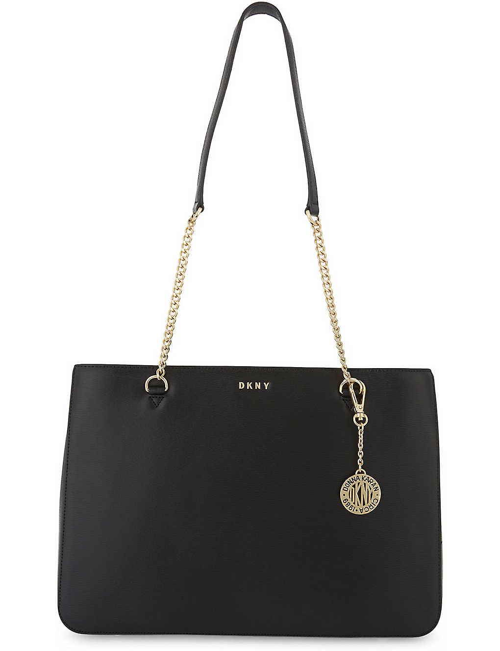 DKNY - Bryant Park large leather shoulder bag  50c8965eebd8e