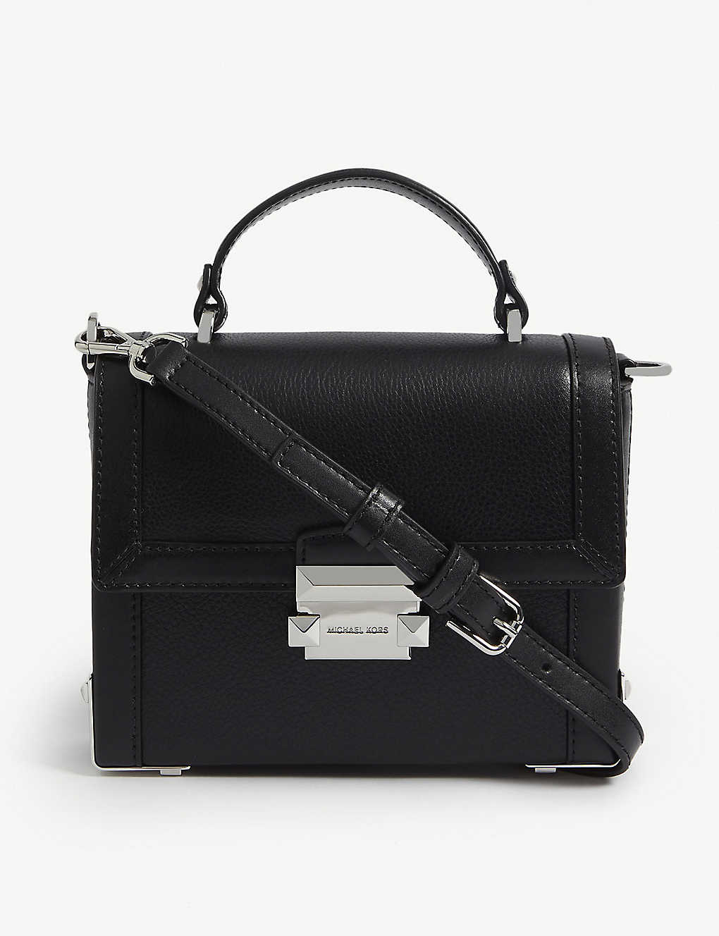 ac2030a9685 MICHAEL MICHAEL KORS - Jayne pebbled leather trunk bag   Selfridges.com
