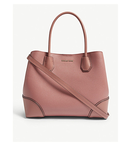 2bace08d79e3e6 ... MICHAEL MICHAEL KORS Mercer Gallery leather tote (Rose. PreviousNext
