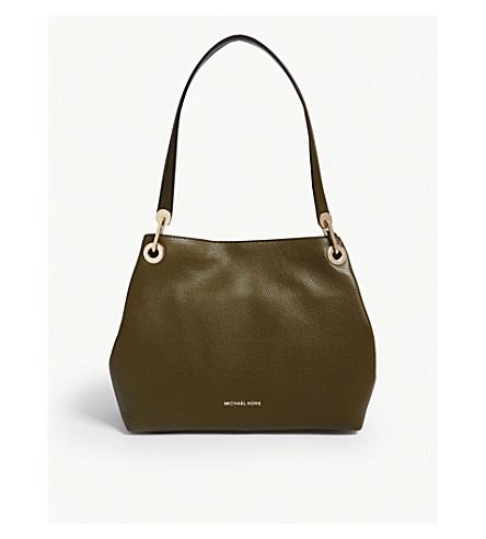 ba01261fcce8 MICHAEL MICHAEL KORS - Raven leather shoulder bag