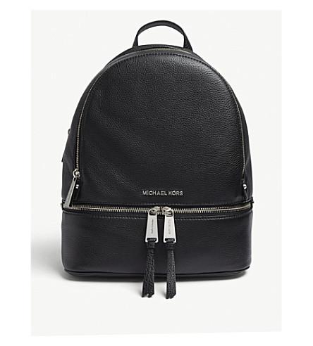 11745e9124d9 ... MICHAEL MICHAEL KORS Rhea medium leather backpack (Black. PreviousNext