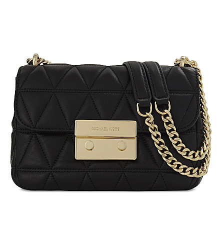 57f4238560 ... MICHAEL MICHAEL KORS Sloan small quilted leather cross-body bag (Black.  PreviousNext