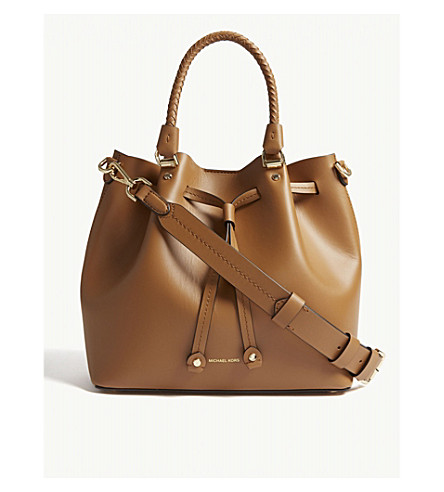 ... MICHAEL MICHAEL KORS Blakely leather bucket bag (Acorn. PreviousNext 463f1308cf2c6