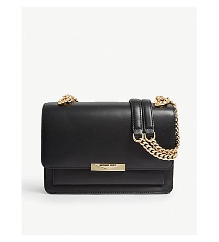 c5cb15b73c0b ... MICHAEL MICHAEL KORS Jade leather shoulder bag (Black. PreviousNext