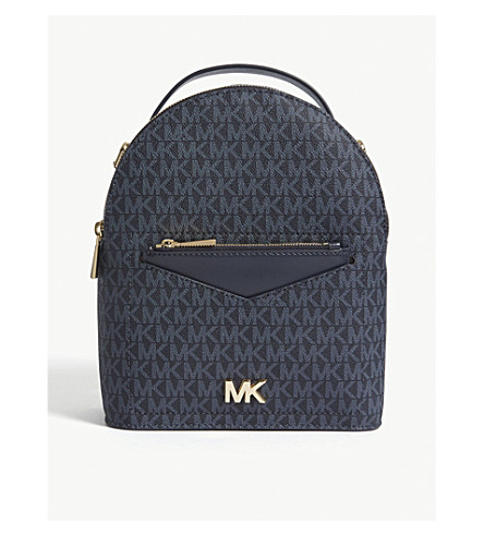 discount code for michael michael kors jessa small leather cross body  backpack admrl plblue. previousnext 15c14a5226fce