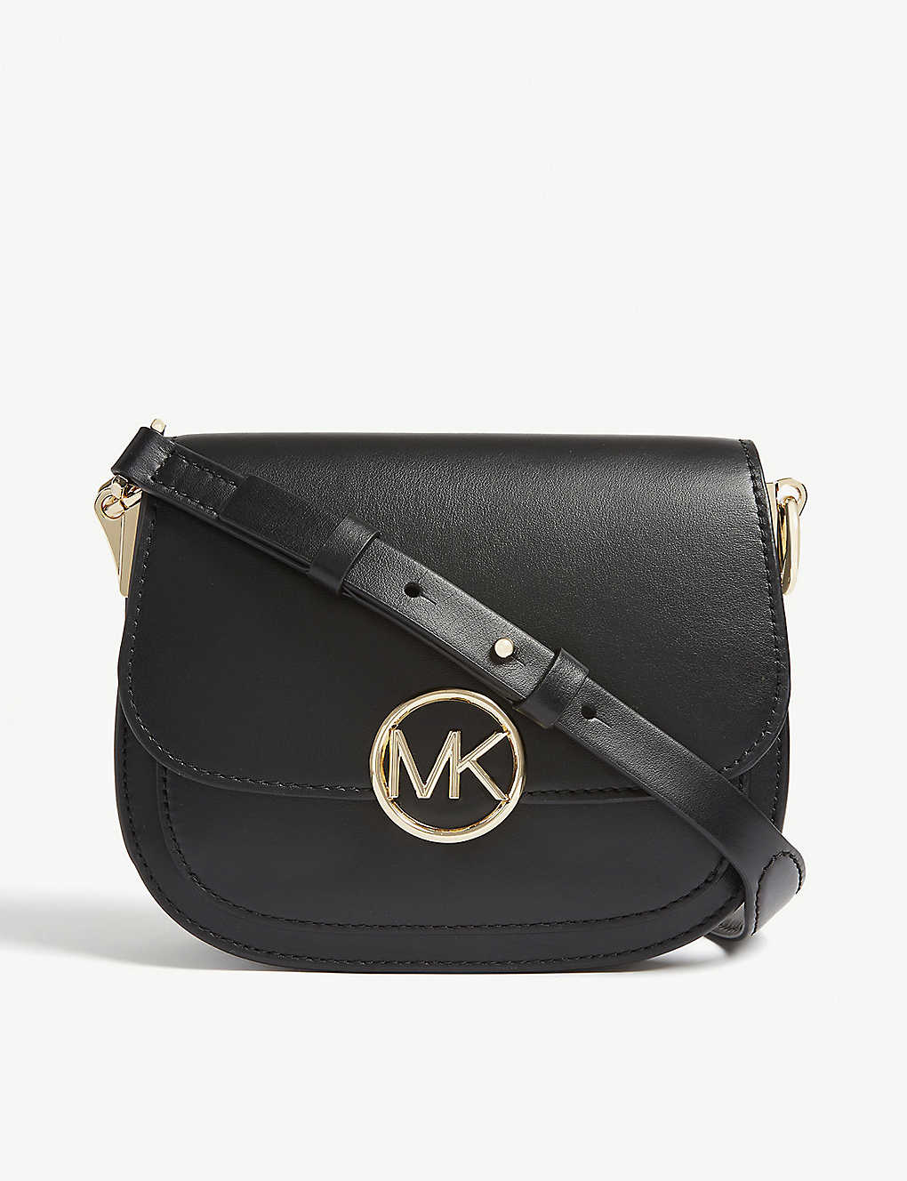 e2b0d8ab5009 MICHAEL MICHAEL KORS - Lillie small leather saddle bag