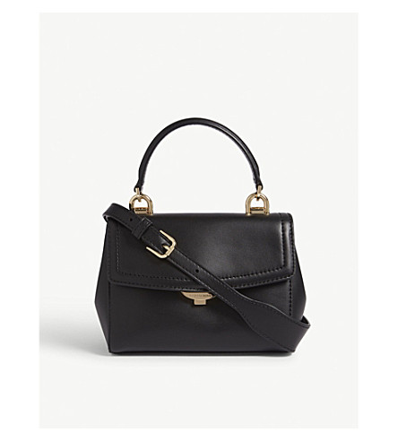 285ee80ec16a ... MICHAEL MICHAEL KORS Ava extra small leather cross-body bag (Black.  PreviousNext