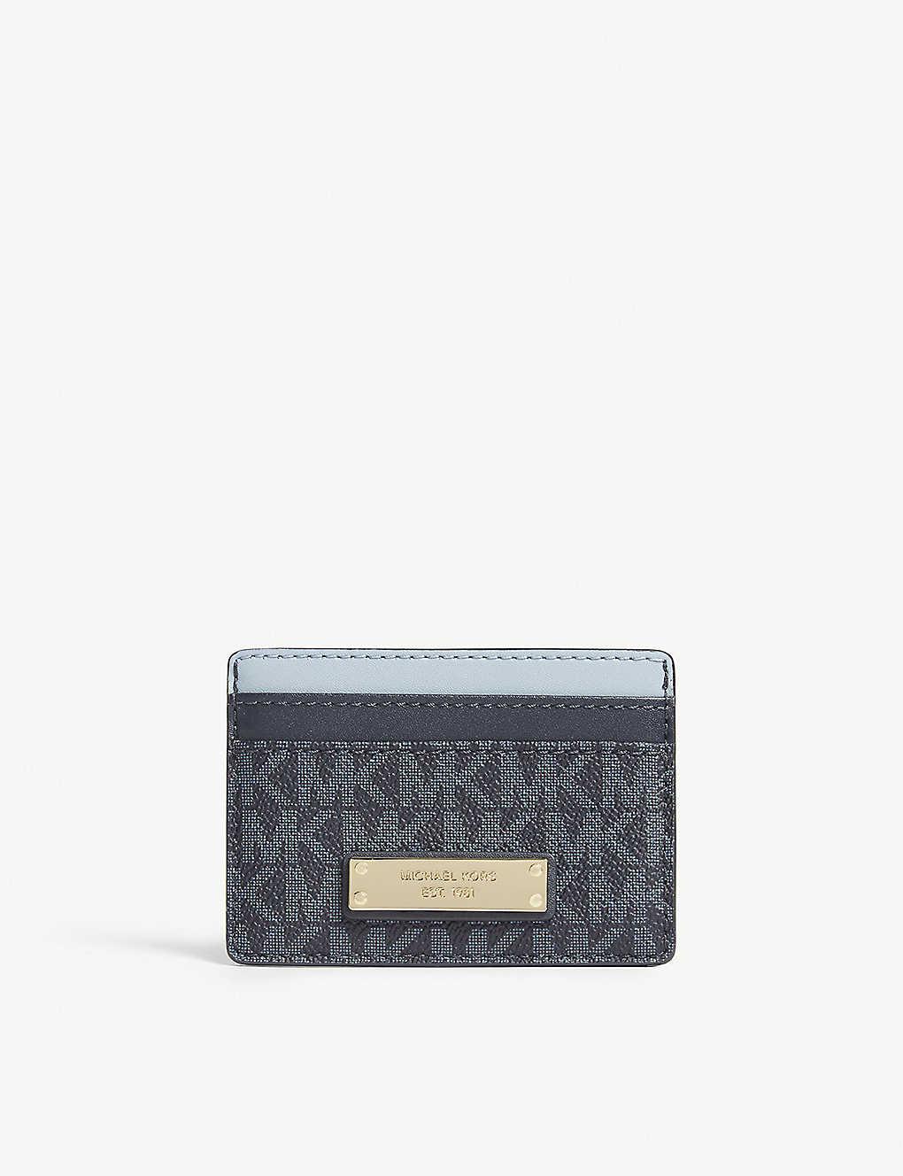 dff3a81f609c MICHAEL MICHAEL KORS - Money Pieces logo leather card holder ...
