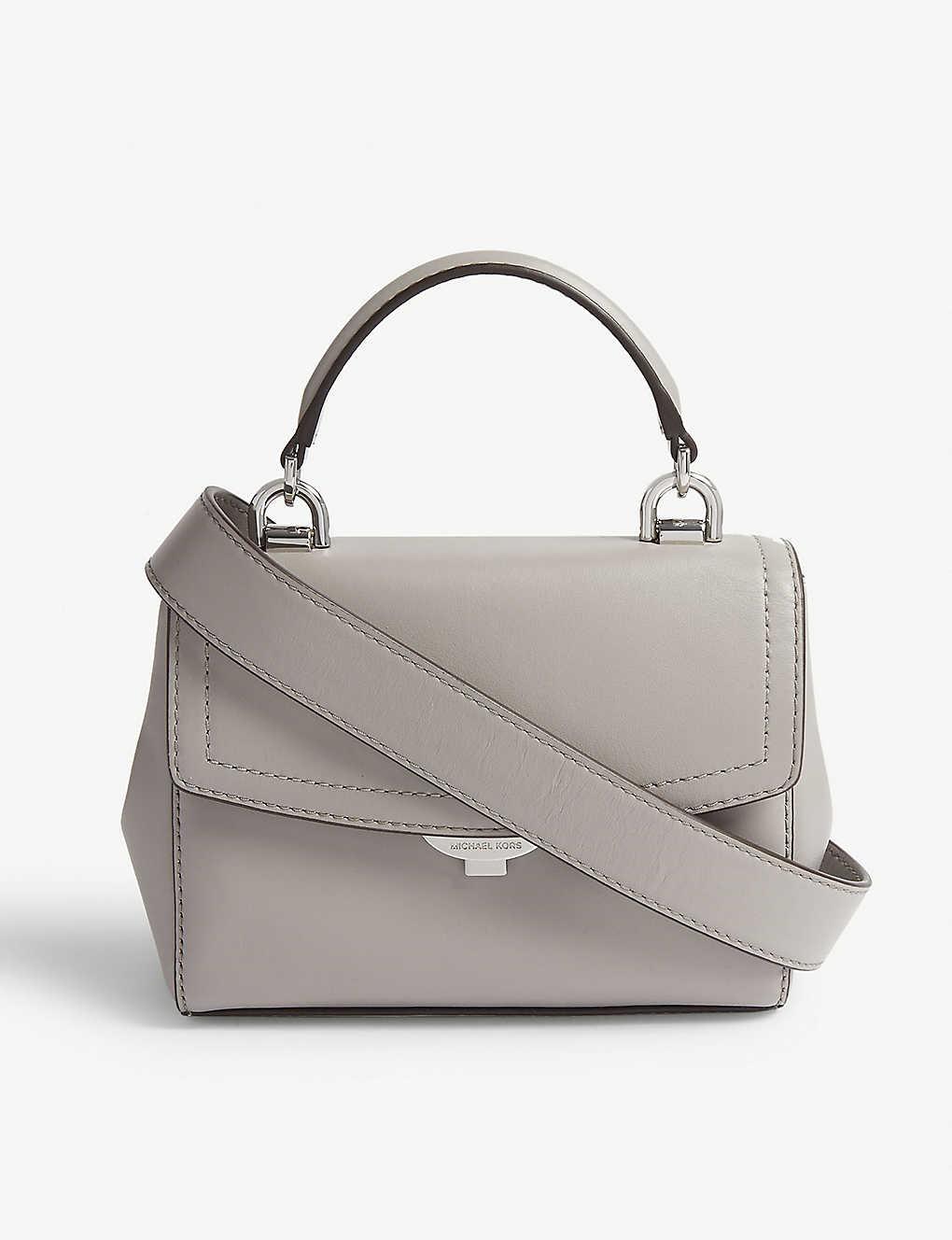 d0fa14607fdd2 MICHAEL MICHAEL KORS - Ava extra small leather cross-body bag ...