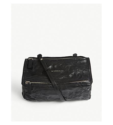 a862ba88176d ... GIVENCHY Pandora mini leather shoulder bag (Black. PreviousNext