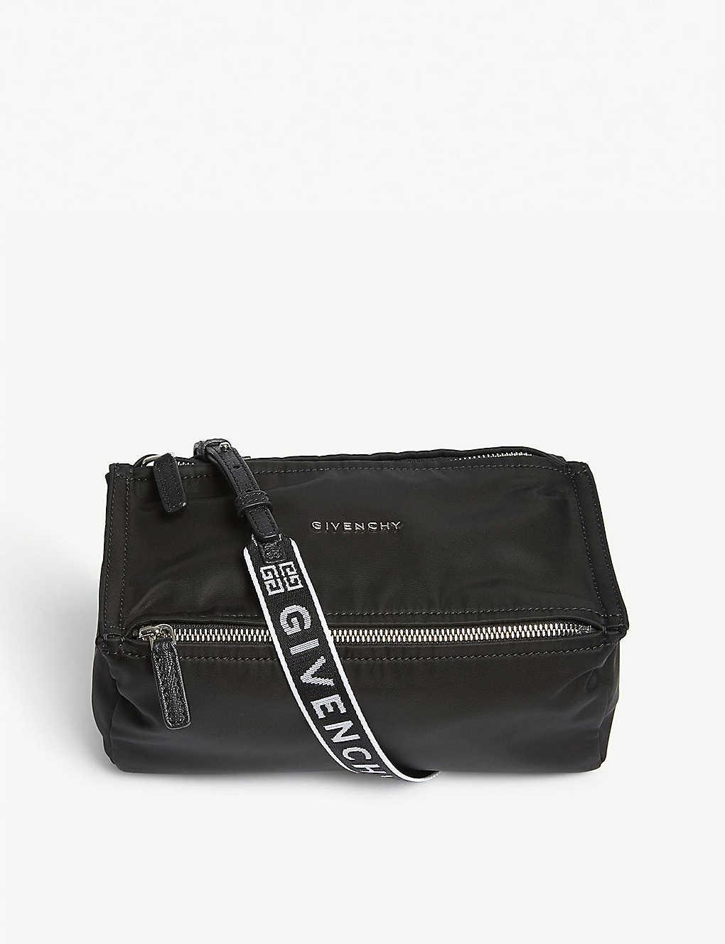 1c1e847c08b6 GIVENCHY - Pandora mini logo nylon messenger bag