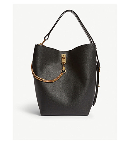 8e79a3a513d9 GIVENCHY - GV leather bucket bag