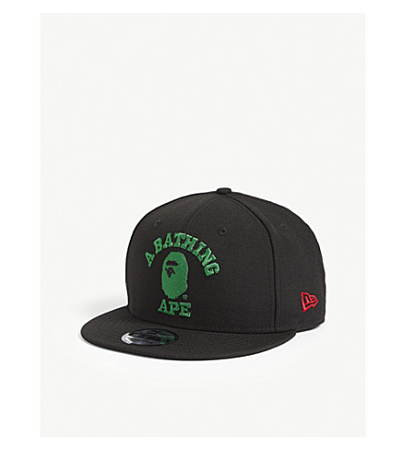 ... New Era embroidered logo wool snapback cap (Black. PreviousNext 35fa011c2