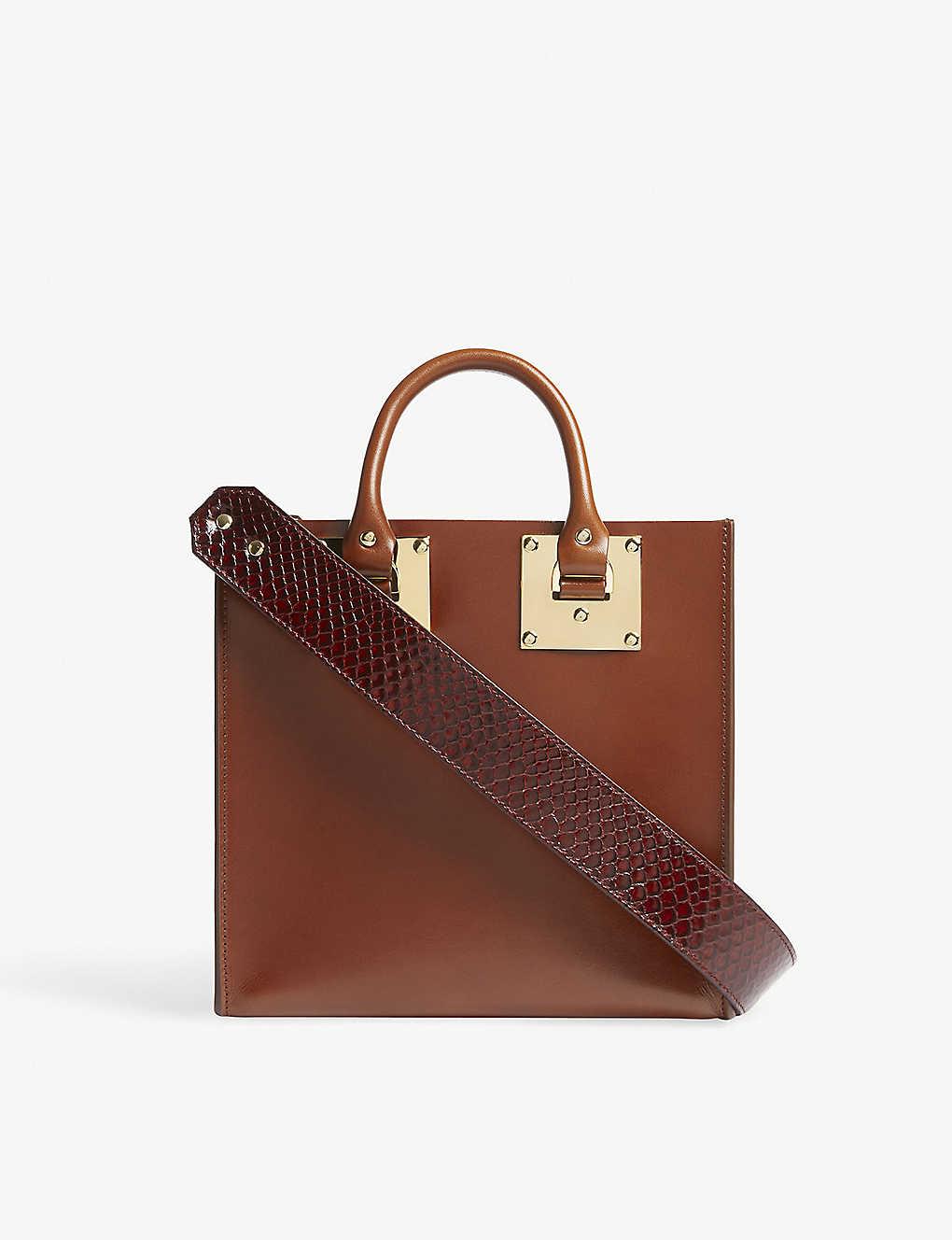 SOPHIE HULME - The Albion Square leather shoulder bag  9e92e1d15d5f8