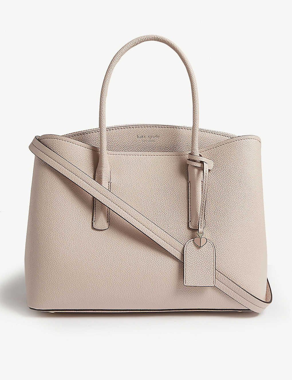 2f2539dbf66a KATE SPADE NEW YORK - Margaux large grained leather tote ...
