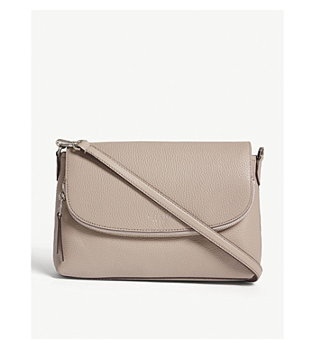 e75a44707cc7 ... KATE SPADE NEW YORK Polly large convertible leather cross body bag  (Warm+taupe. PreviousNext