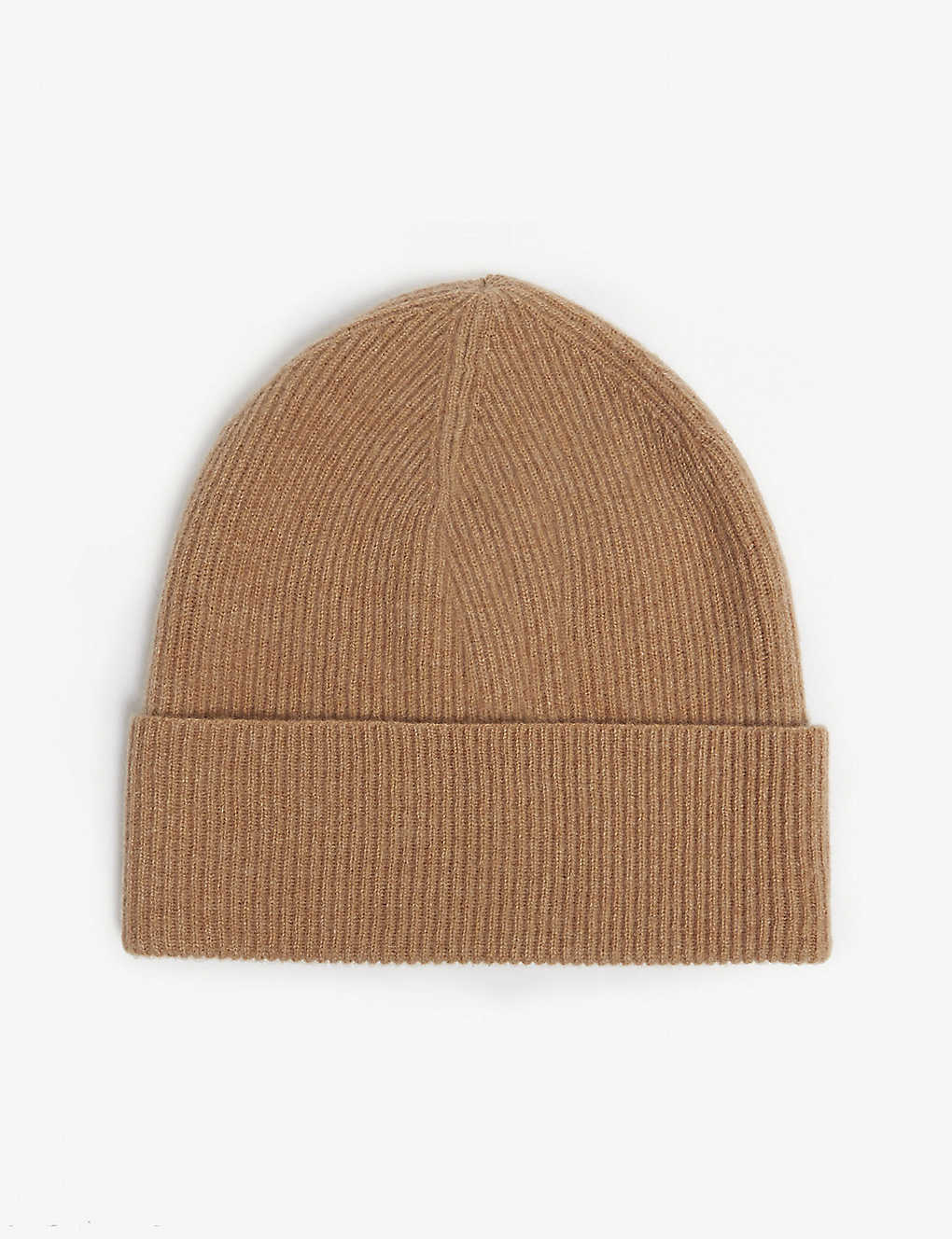LOU DUNGATE - Exeter cashmere ribbed beanie  42310e1f2d82