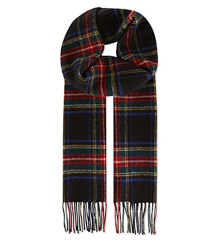 checked-lambswool-scarf by johnstons