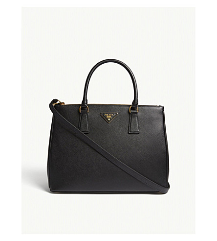 ... PRADA Galleria Saffiano large leather tote (Black. PreviousNext de1fe78de662a