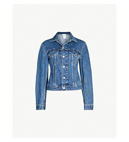 HELMUT LANG - Femme Trucker denim jacket  e099e08a9