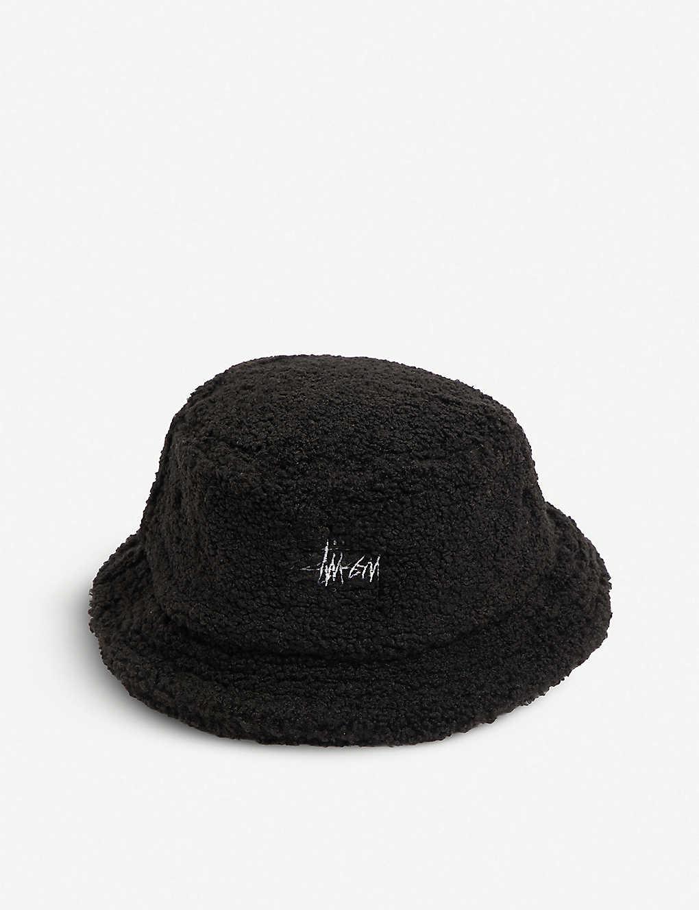 STUSSY - Fleece bucket hat  36507c27149