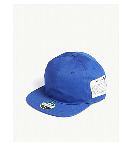 95d0338a3da ... Ader Error cotton strapback cap (Blue. PreviousNext