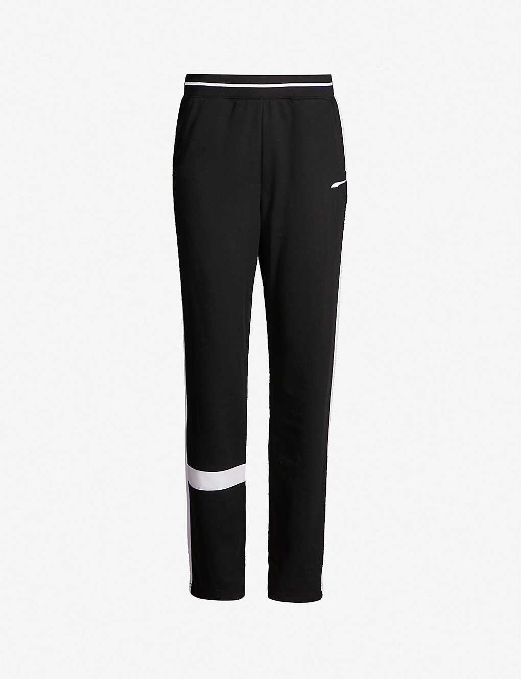d3a17f9b13f4 PUMA X ADER ERROR - Embroidered-logo cotton-blend track pants ...