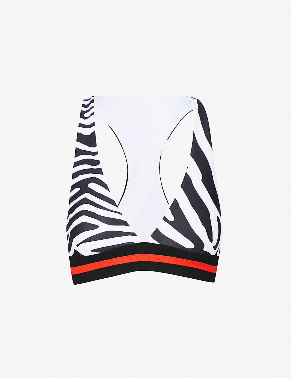 9d3c5378f20e5 P.E NATION - Fanatic stretch-jersey sports bra