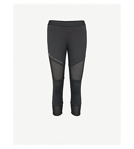 4fb7ac3b246a7 ... ADIDAS BY STELLA MCCARTNEY Performance Essentials cropped jersey  leggings (Black. PreviousNext