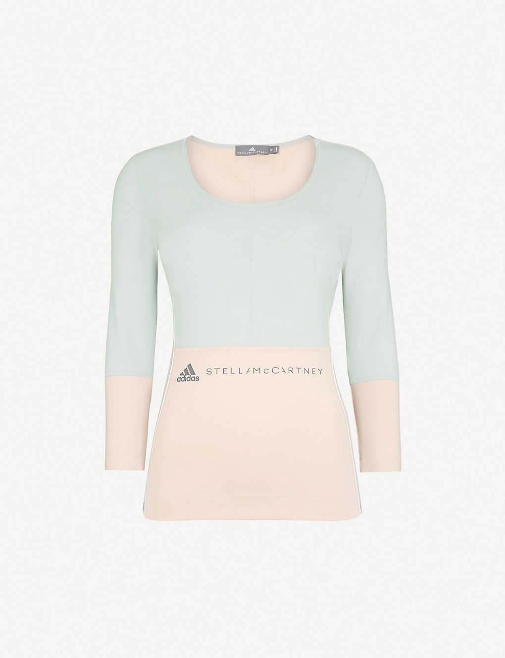 87be64b70ce ADIDAS BY STELLA MCCARTNEY - Yoga Comfort stretch-jersey top ...