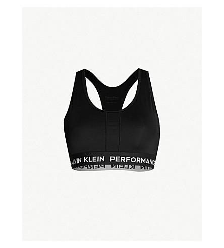9f4058d0c7a85 ... stretch-jersey sports bra (Ck+black ck+black. PreviousNext