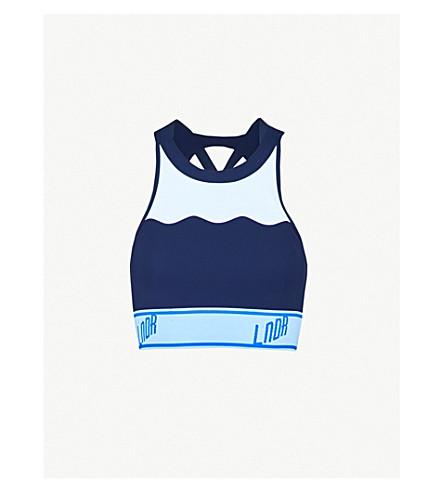 8330459052252 ... LNDR Swell stretch-jersey sports bra (Navy. PreviousNext