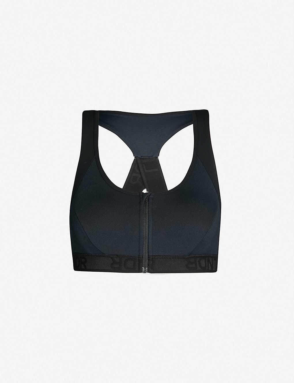 9723692858486 LNDR - Hype stretch-jersey sports bra