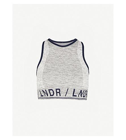 1b3a927a5dda7 ... LNDR Aero jersey sports bra (Grey+marl. PreviousNext