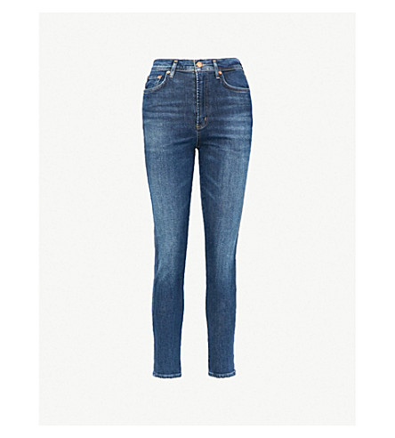 Roxanne Skinny High Rise Jeans by Agolde
