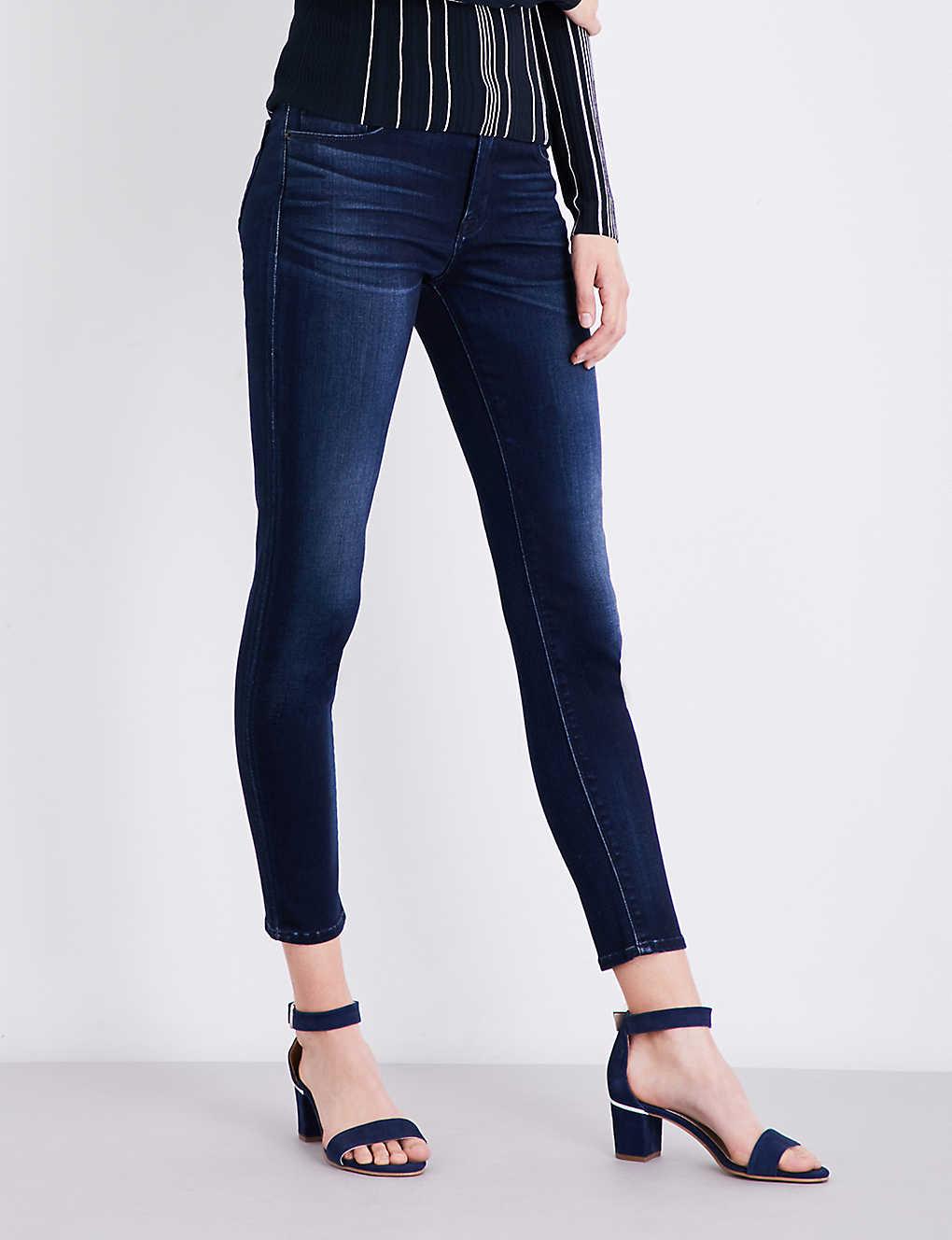 8d26b7c2 HUDSON JEANS - Krista super-skinny mid-rise jeans | Selfridges.com