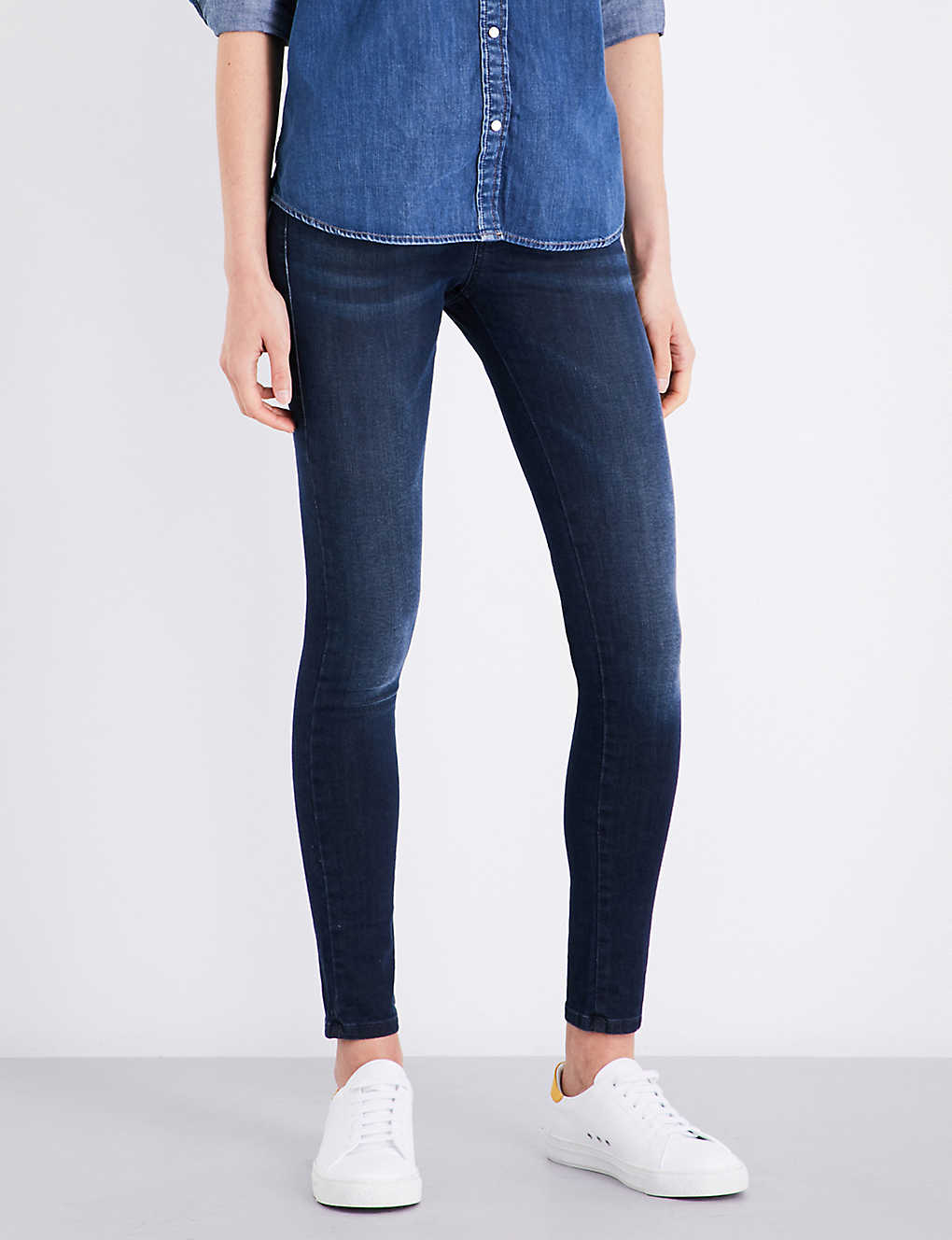 bd10e8a7 DIESEL - Slandy super skinny mid-rise jeans   Selfridges.com