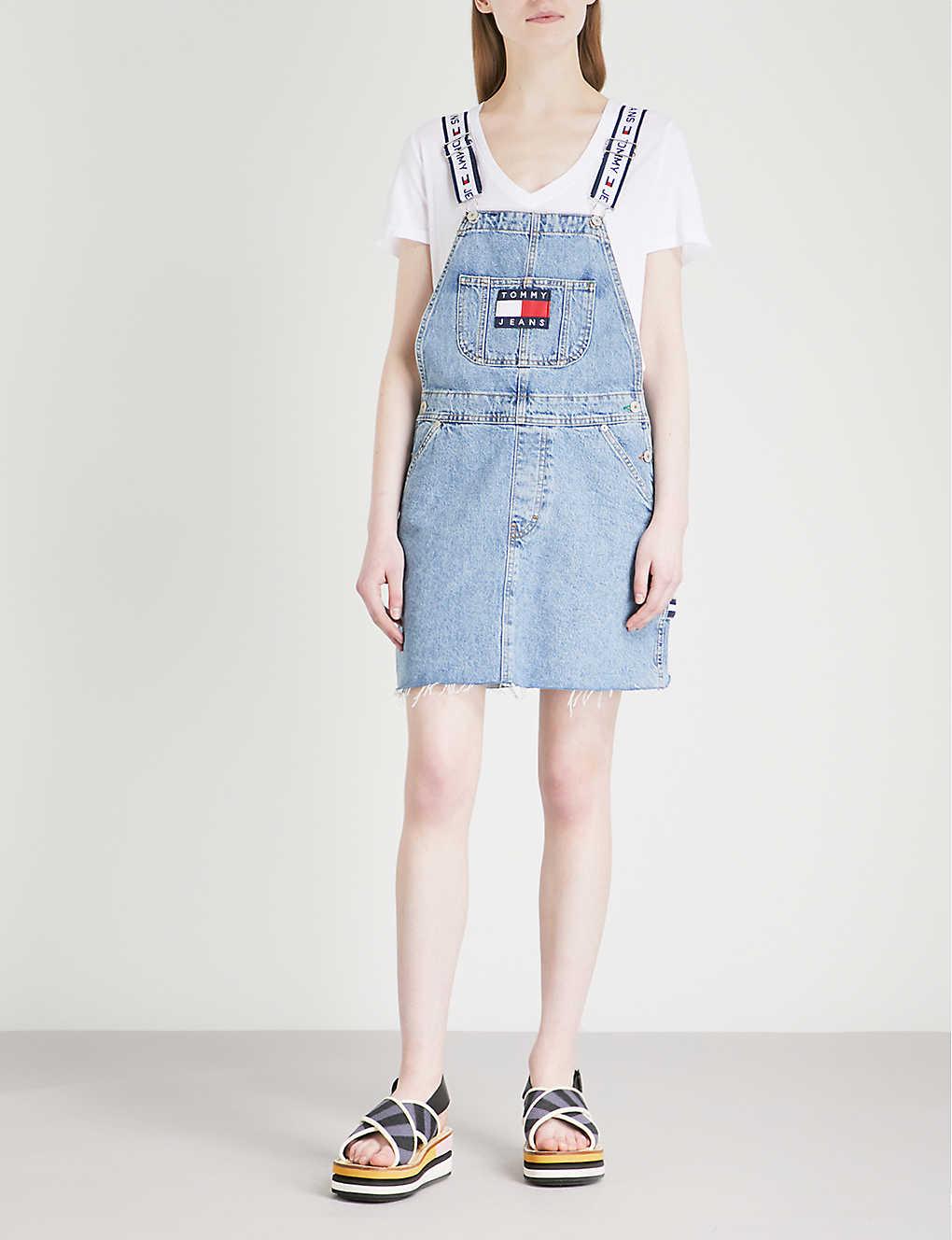 f6e0f680 Tommy Hilfiger Dress Sleeveless Denim Shirt Dress - Cotswold Hire