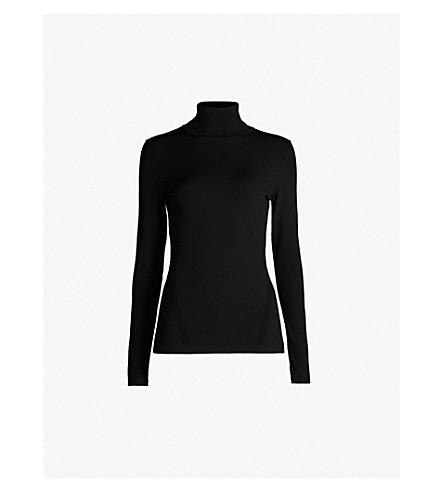 5e65f7c850539 ... DIANE VON FURSTENBERG Turtleneck knitted jumper (Black. PreviousNext