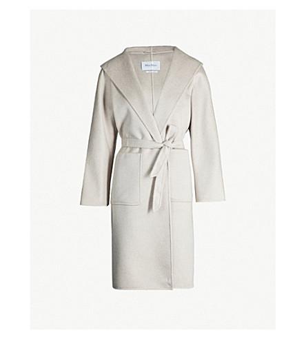 d55e90c738 MAX MARA - Lilia brushed cashmere wrap coat