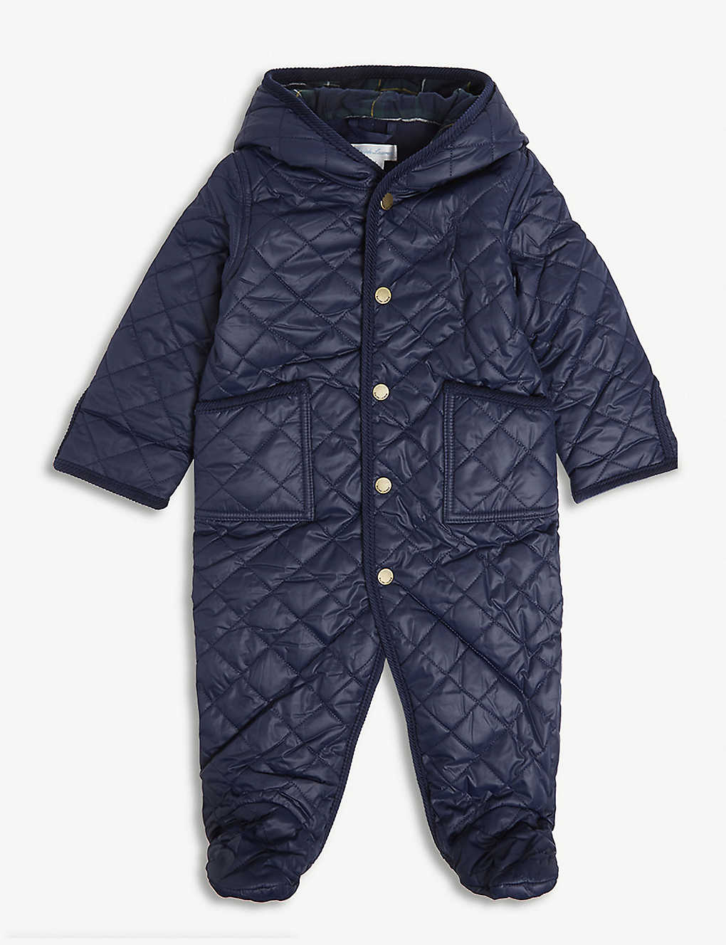 36d680aed RALPH LAUREN - Hooded quilted snowsuit 3-9 months