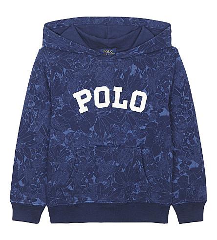 c847490775d23 ... RALPH LAUREN Polo floral print cotton hoody 2-7 years (Blue tropical.  PreviousNext