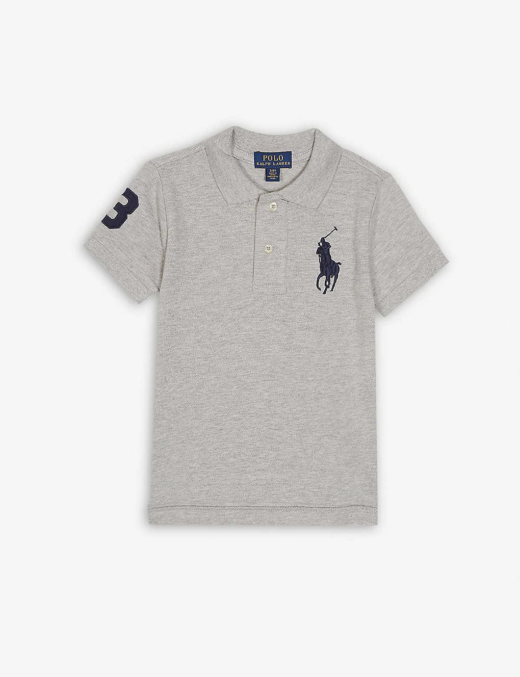 ed1dea4a4 Ralph Lauren Logo Cotton Polo Shirt 3 7 Years Selfridges Com