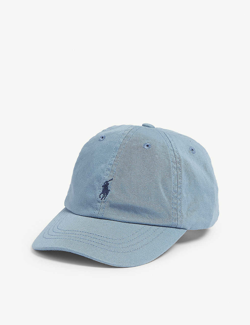 1daa7a677dfc RALPH LAUREN - Embroidered-logo cotton chino baseball cap ...