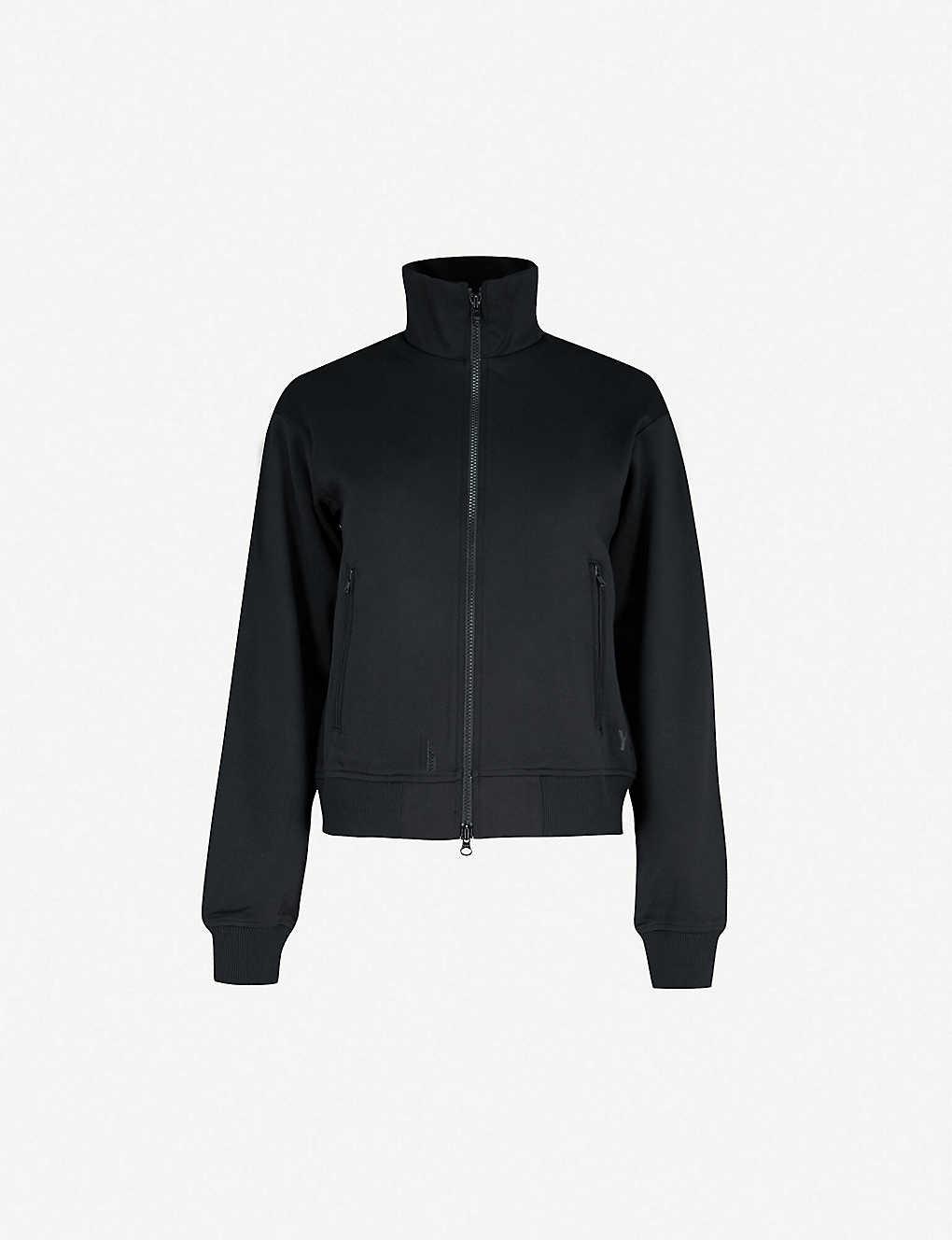3f95e2251aa1 Y3 - Open-back jersey jacket