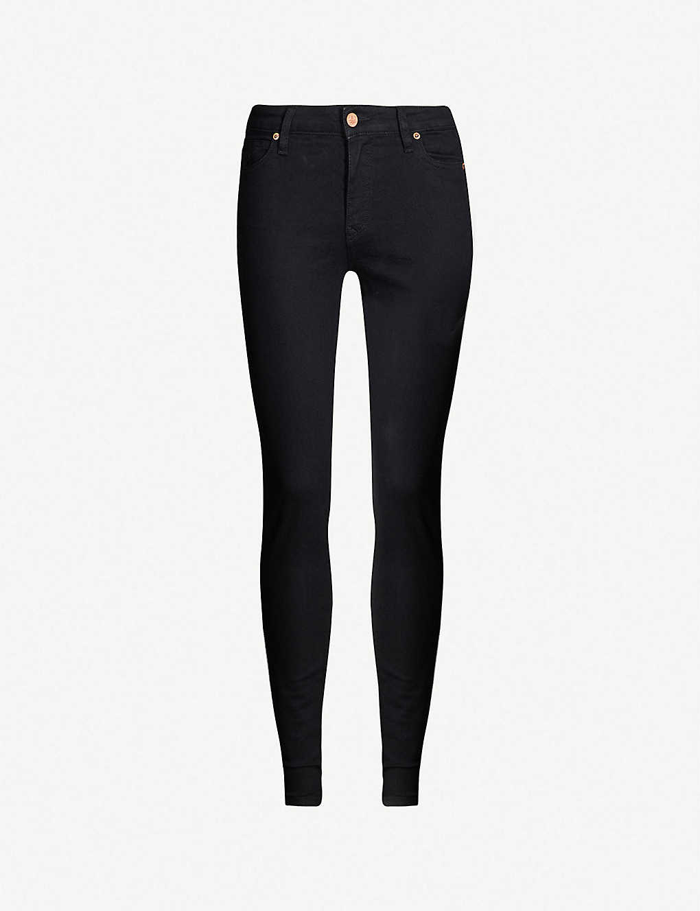 VIVIENNE WESTWOOD ANGLOMANIA - Slim-fit mid-rise jeans  3d594ed17