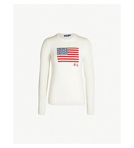 260fd5111122 POLO RALPH LAUREN - Flag cotton jumper