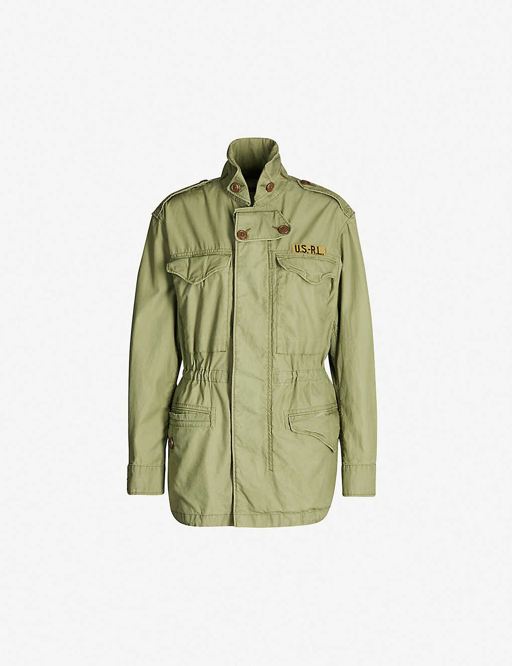 POLO RALPH LAUREN - Military cotton-twill jacket  0878c642a3d5f
